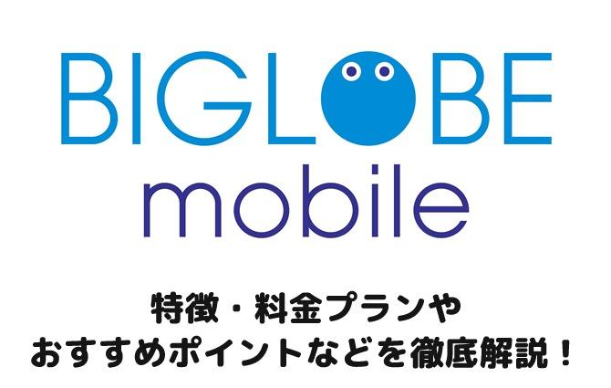 評判 biglobe モバイル BIGLOBEモバイルの評判(口コミ)